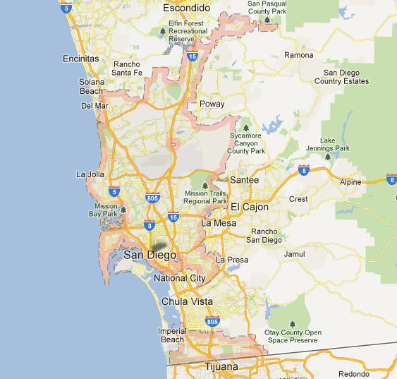 Rediscover San Diego San Diego Days Out – Tourist Map of San Diego